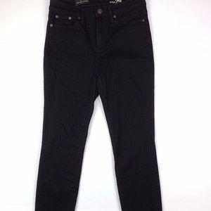 J Crew High Rise Skinny Jeans Women Size 29 Black